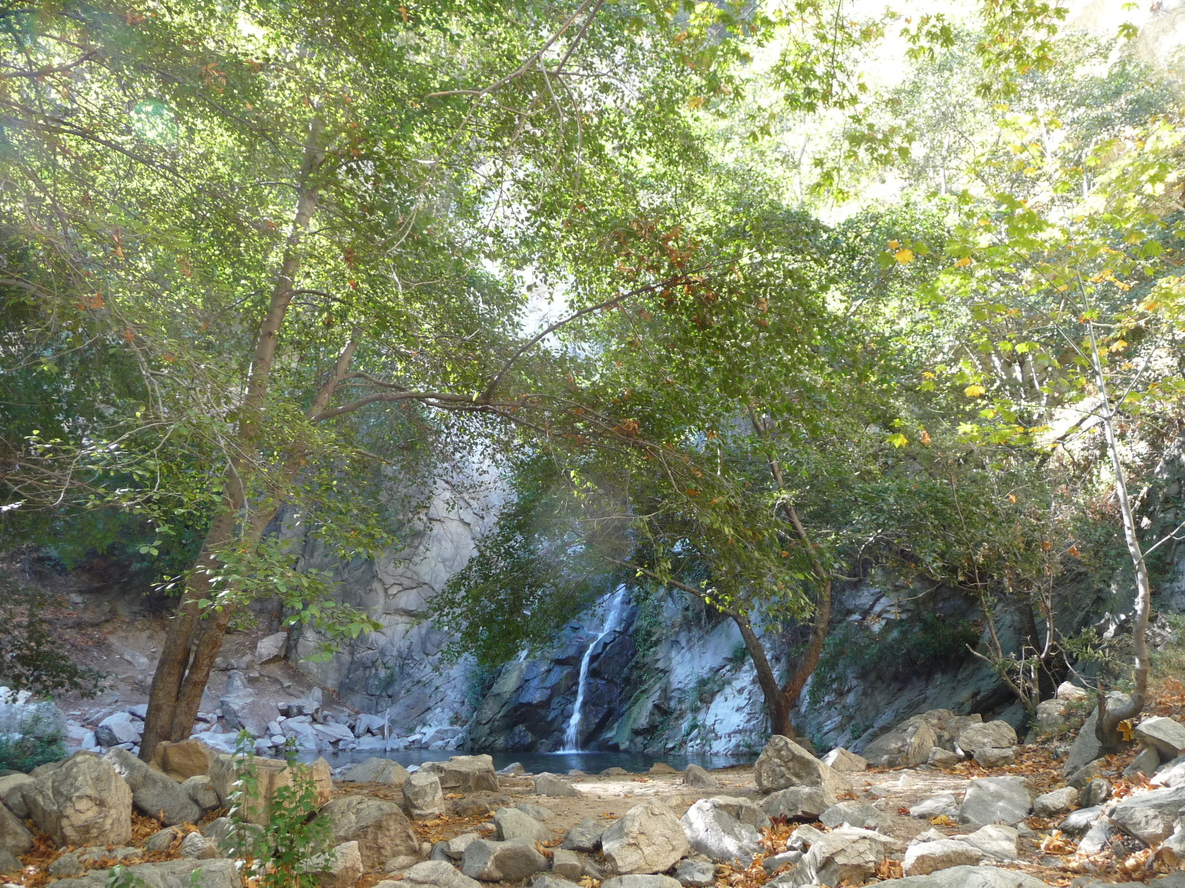 First View of the Waterfall