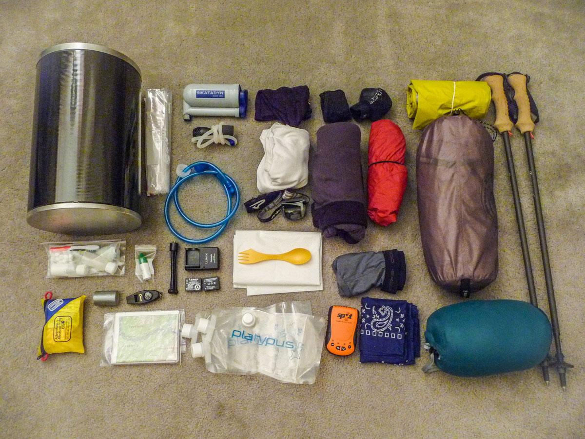 John Muir Trail Packing List