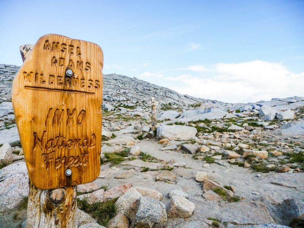 Leaving Yosemite National Park