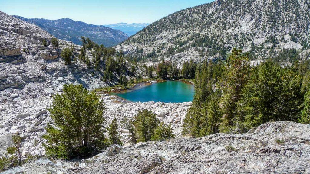 Small lake, John Muir Trail