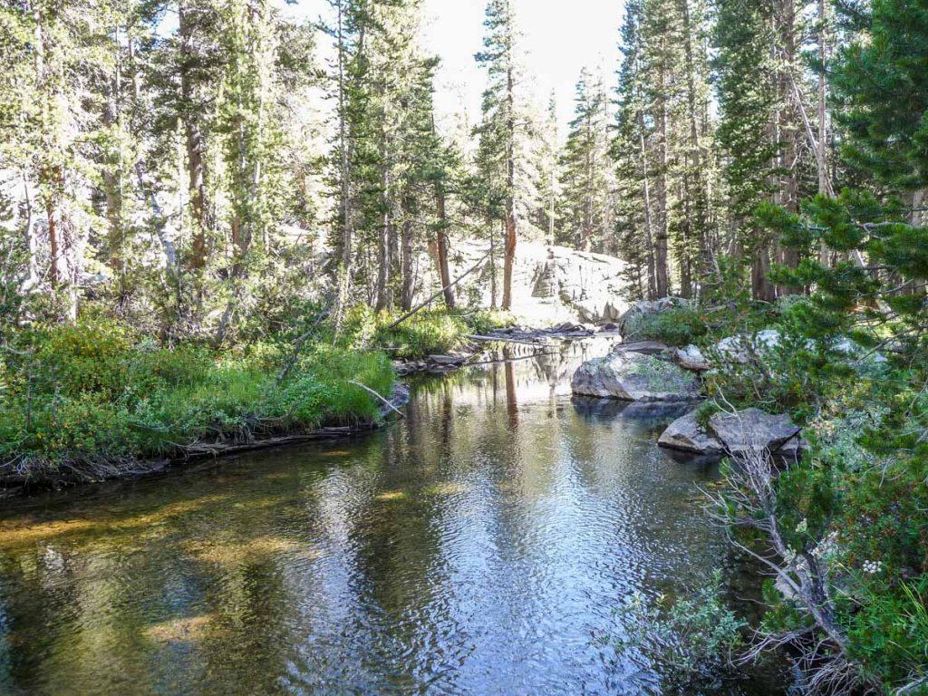 Fish Creek, John Muir Trail