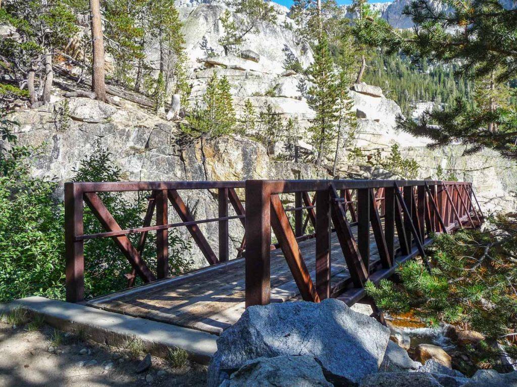 Fish Creek bridge, John Muir Trail