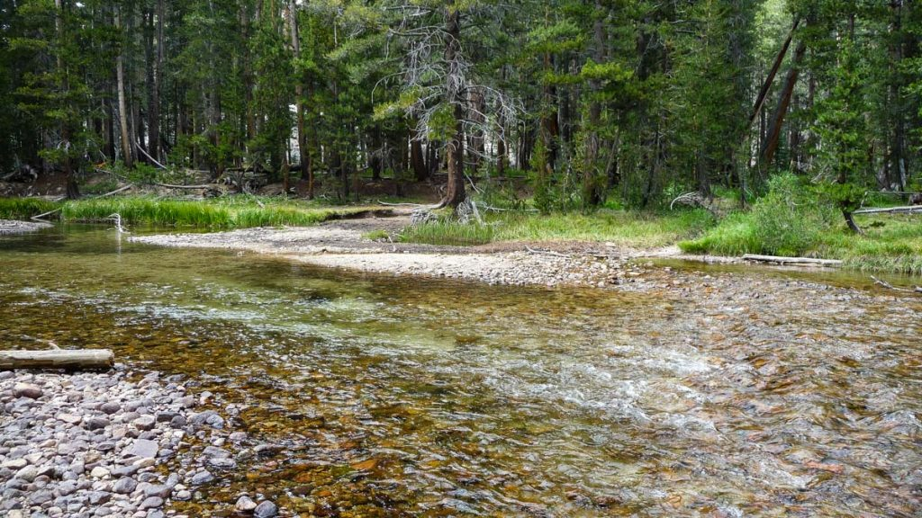 Evolution Creek crossing