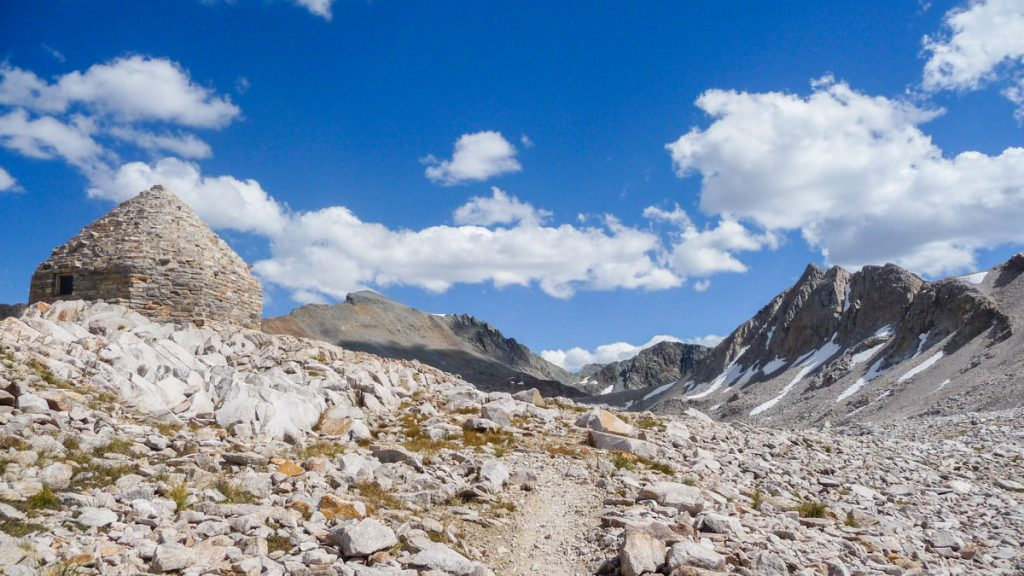 Only a few more steps to Muir Pass