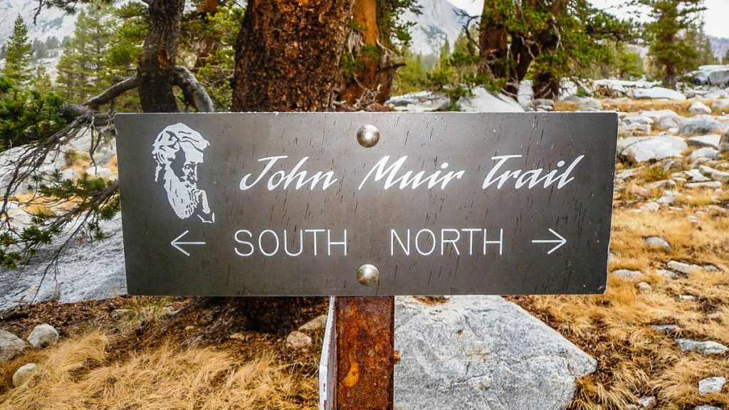 John Muir Trail sign