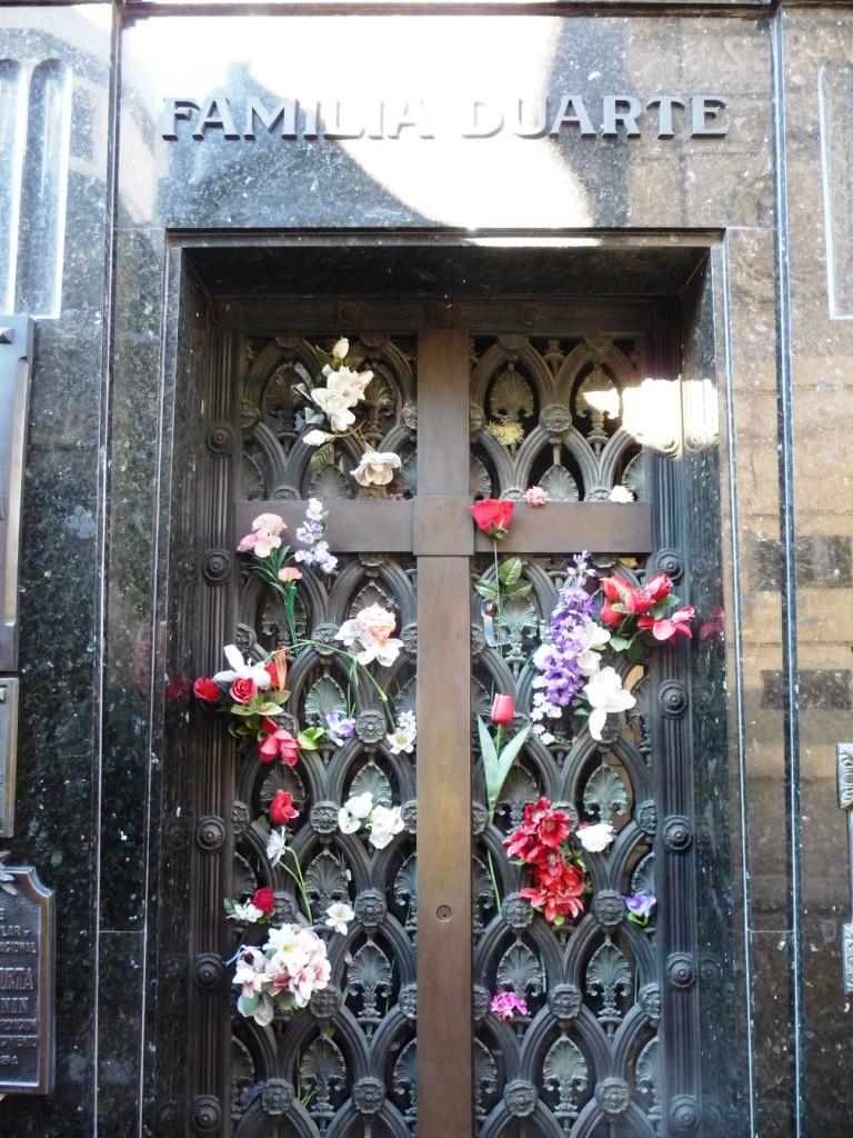 Evita Duarte (de Peron) resting place