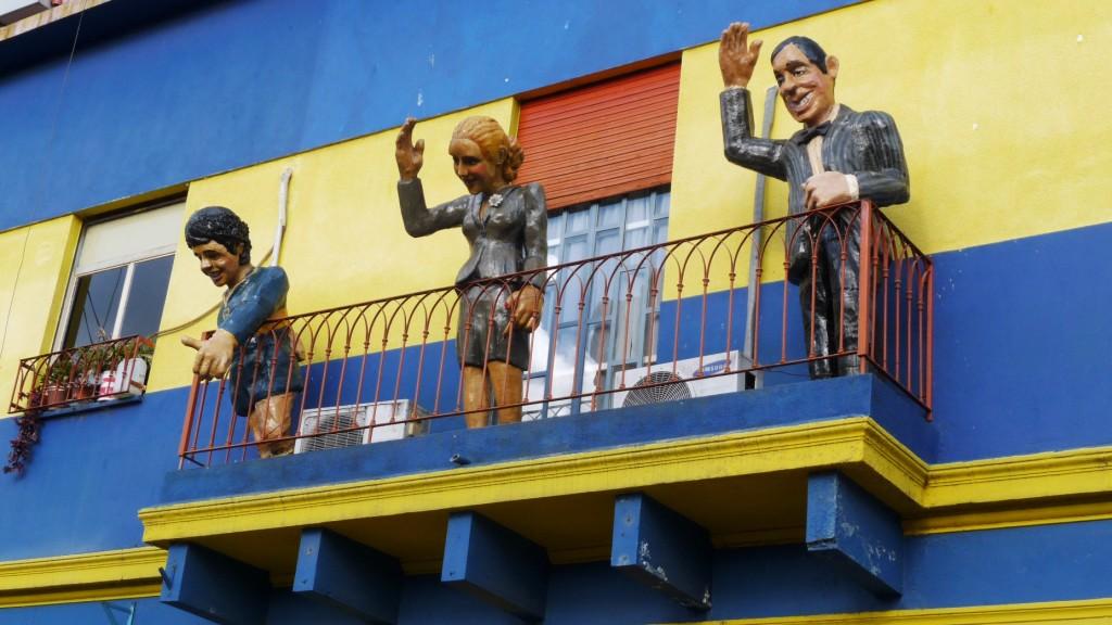 Maradona, Evita and Gardel