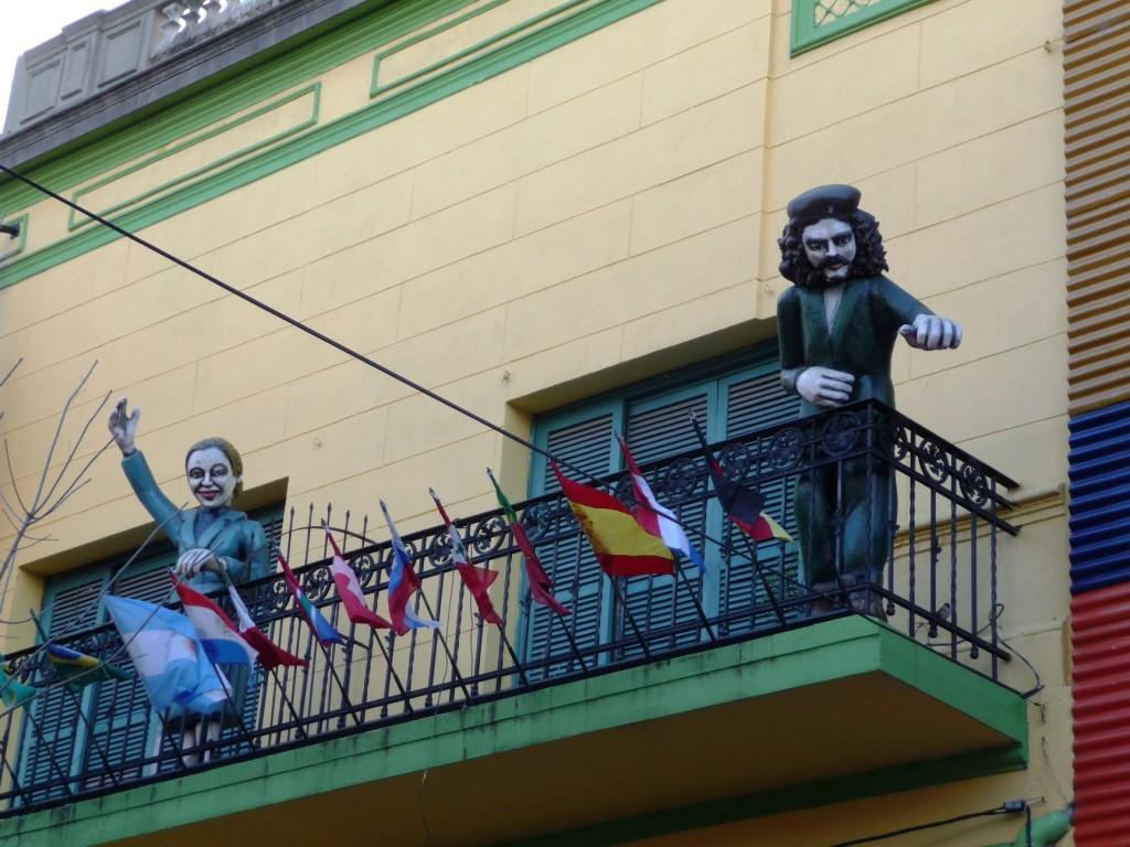 Evita and Che Guevara