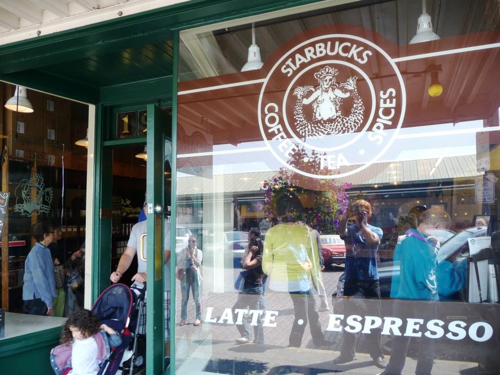 Original Starbucks store