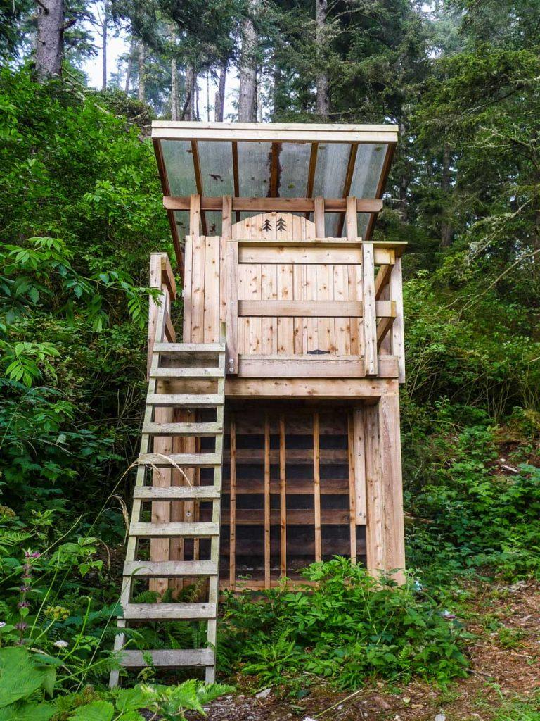 Amazing compost toilet, West Coast Trail