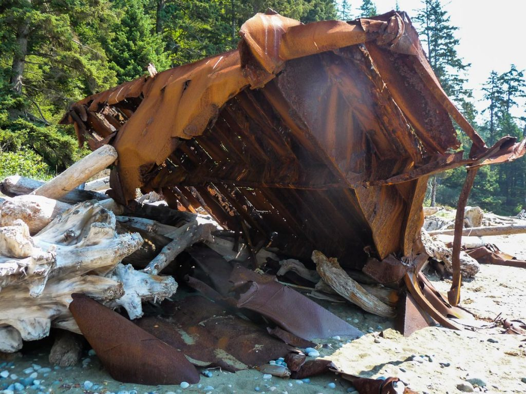 Shipwreck, West Coast Trail