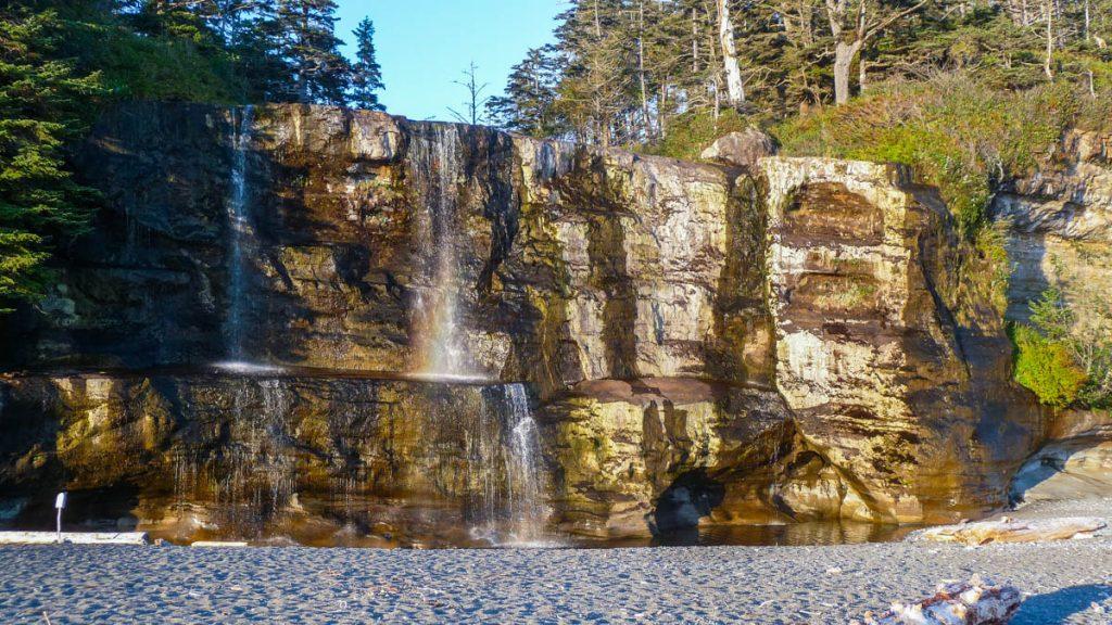 Tsusiat Falls, West Coast Trail