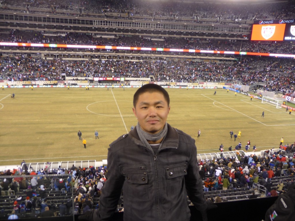 Argentina vs USA. 1-1 at the New Meadowlands Stadium