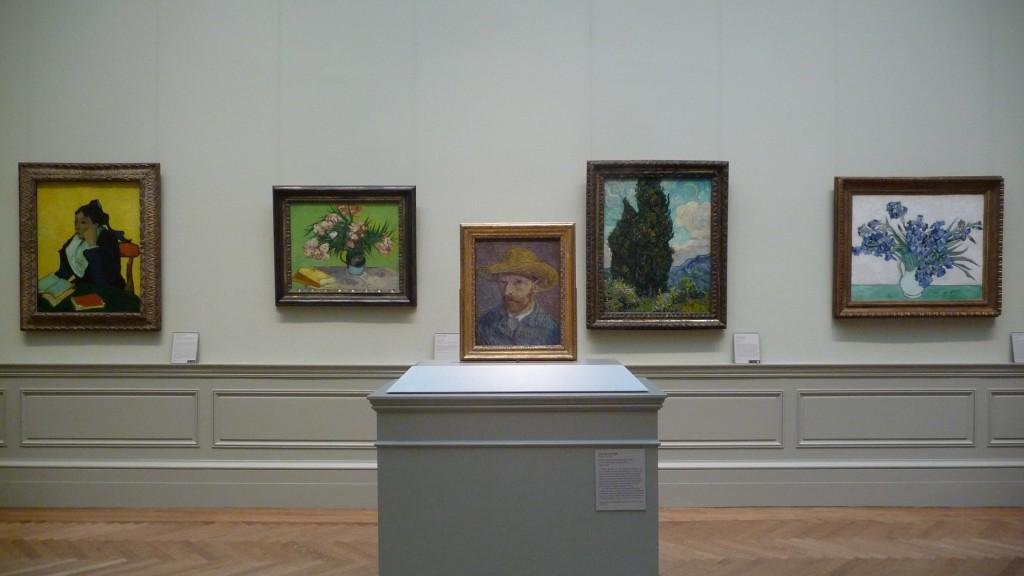 Van Gogh paintings at The Met