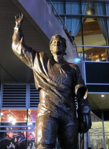 As I left Staples Center, one last picture of The Great One