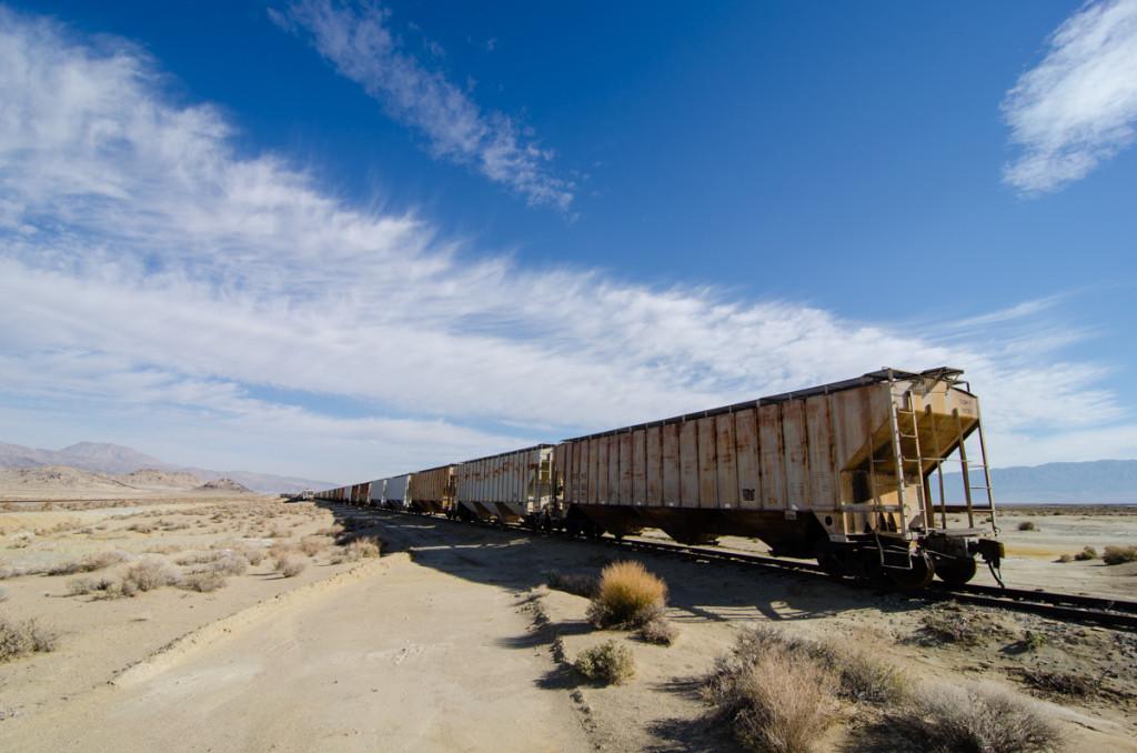 Railroads by Trona