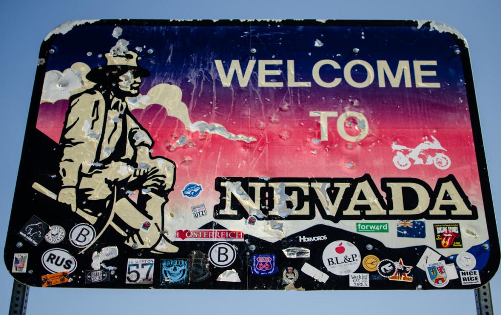 Nevada border, Death Valley