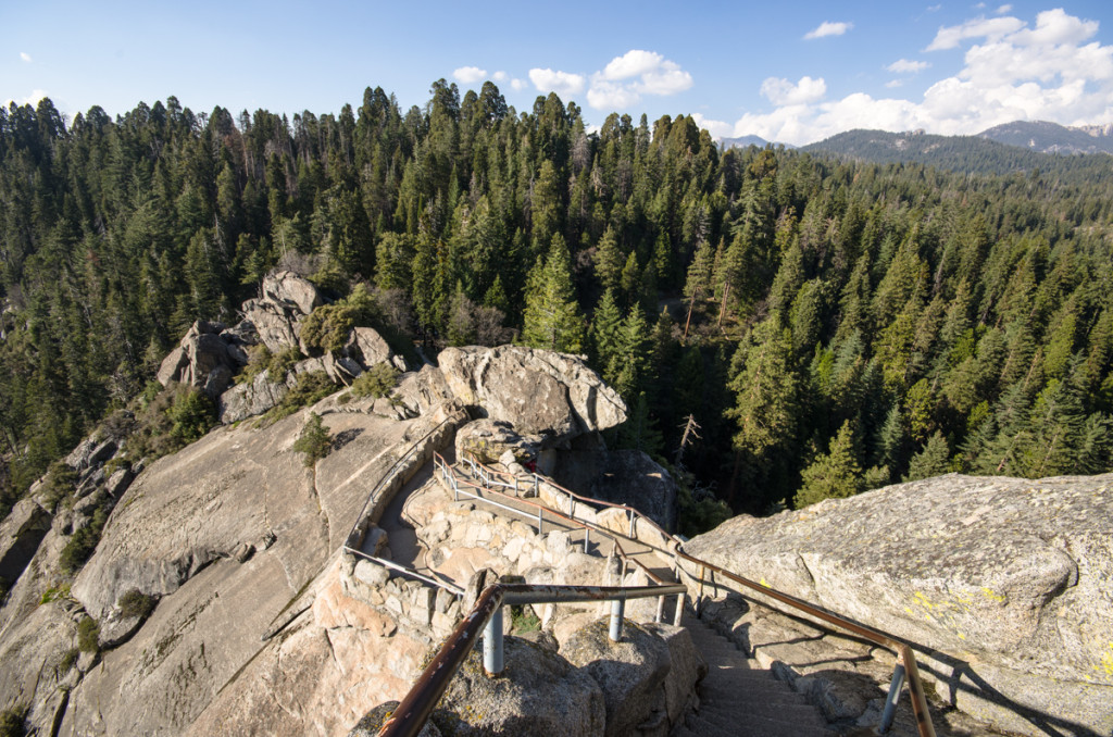 Stairs to Moro Rock - Sequoia National Park