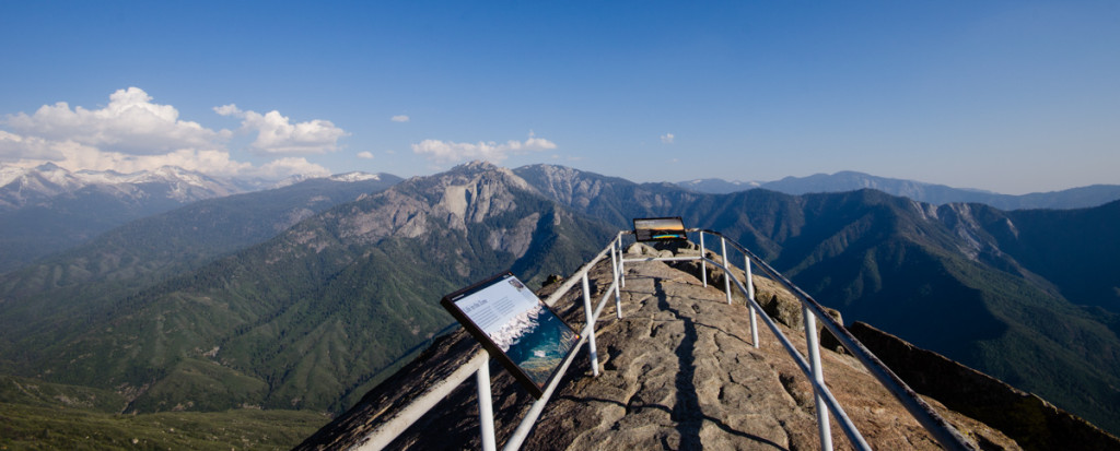Top of Moro Rock - Sequoia National Park