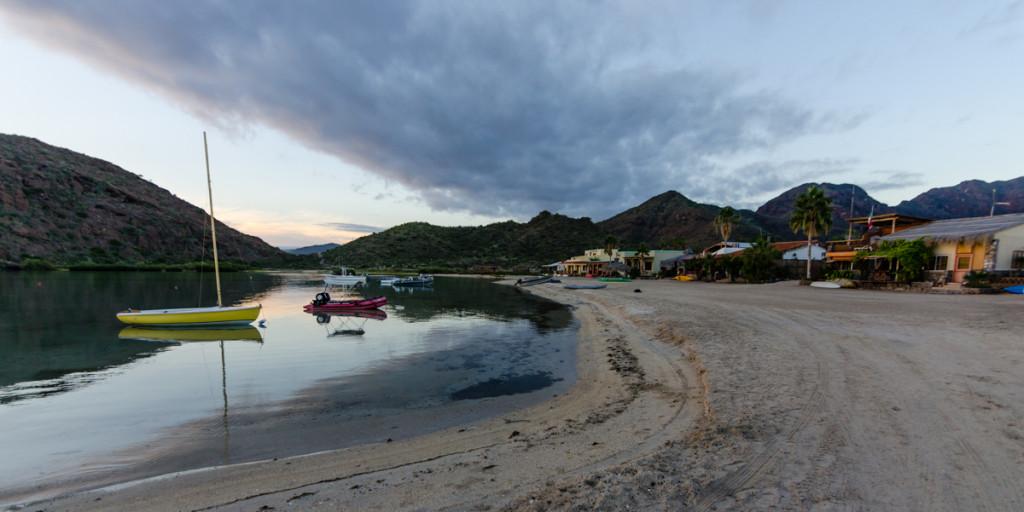 Sunrise at Posada Concepción, Baja California