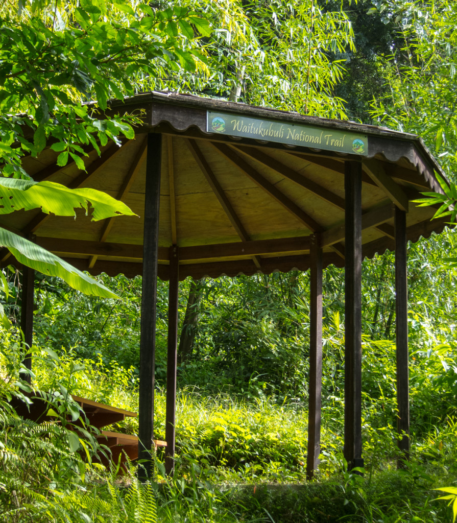 Shelter on Waitukubuli National Trail