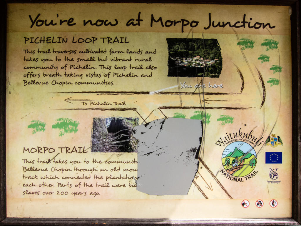 Morpo Junction, Waitukubuli National Trail