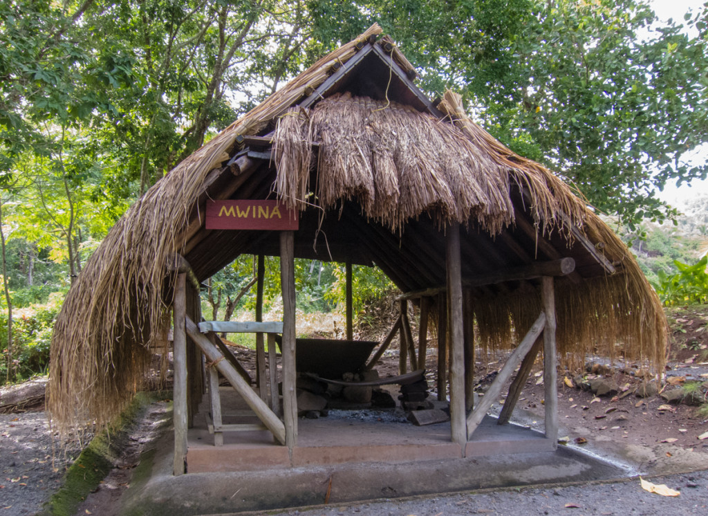 Hut at Kalinago Barana Aute, Dominica