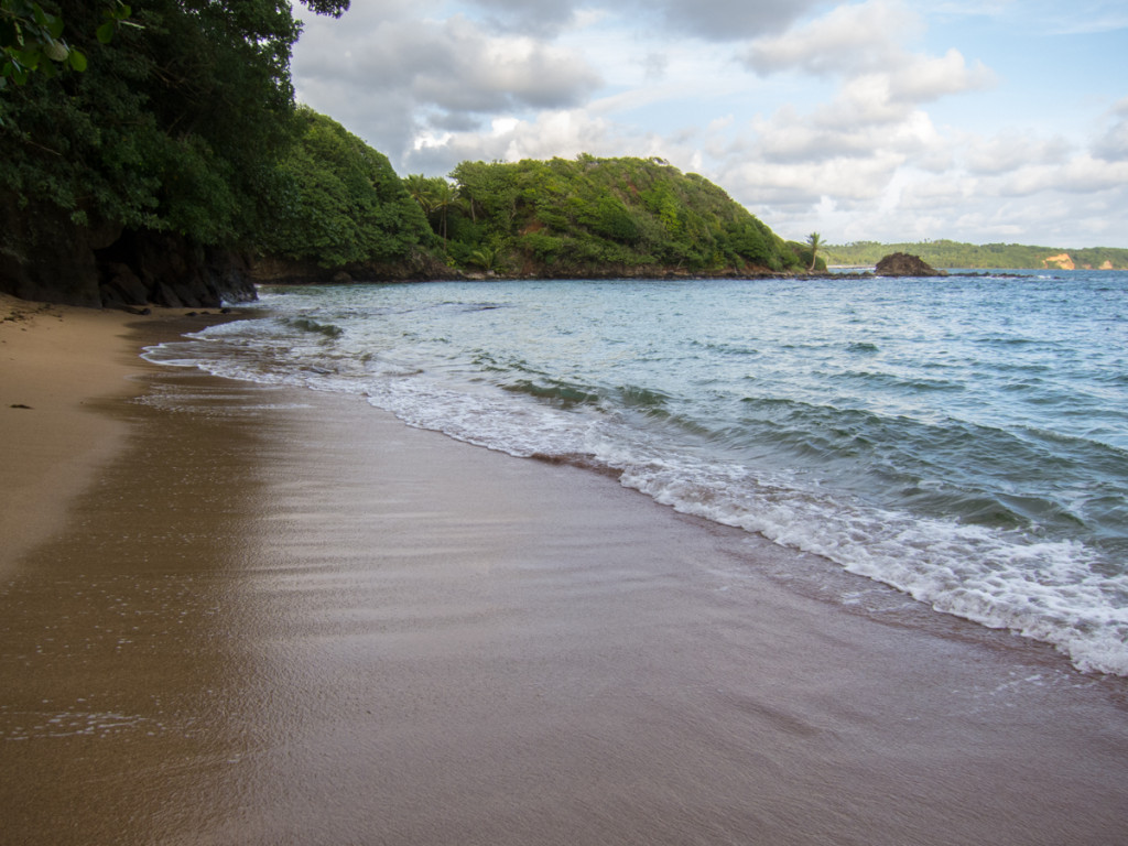 Beach by Marigot, Dominica