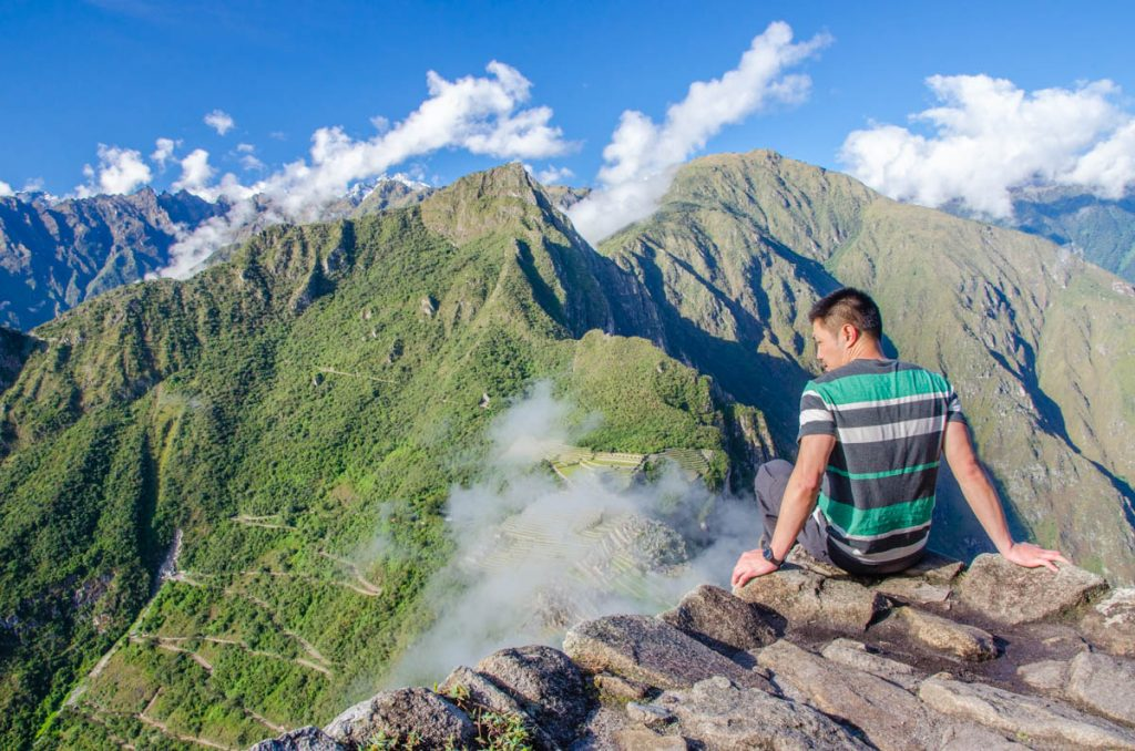View from Huany Picchu