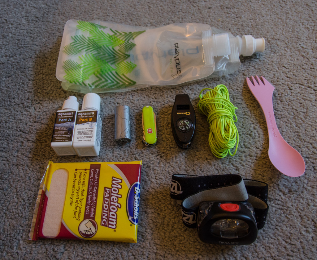 Other smaller camping items