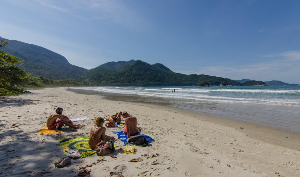 Praia Dois Rios, Ilha Grande, Brazil