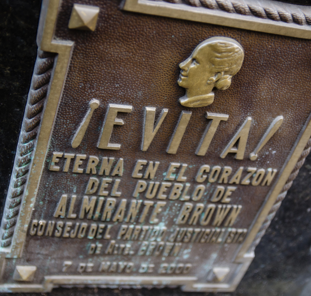 Evita, Cementerio de Recoleta, Buenos Aires