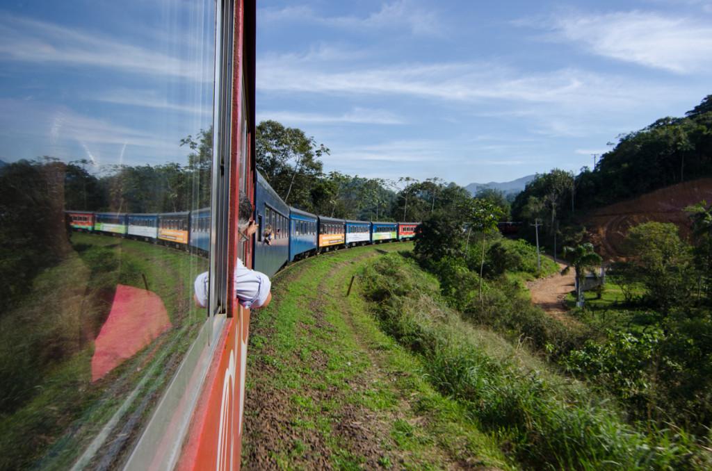 Serra Verde Express, Morretes to Curitiba