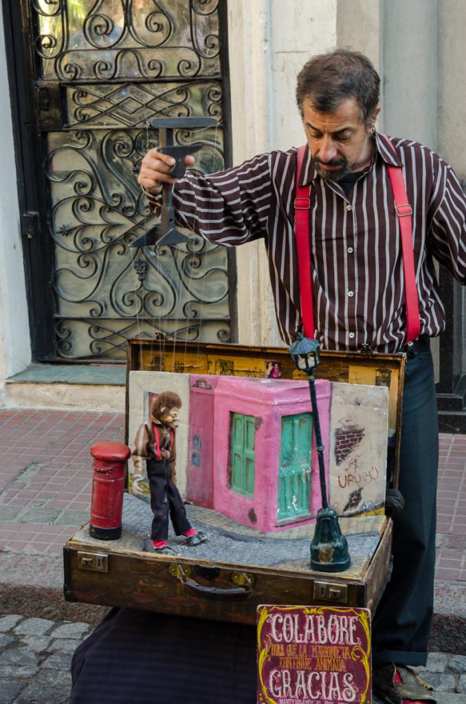Puppeteer, San Telmo