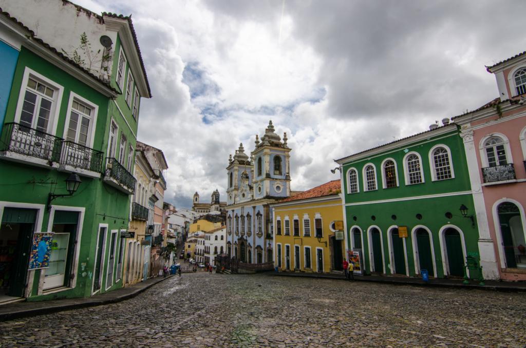 Largo do Pelorinho, Salvador, Brazil