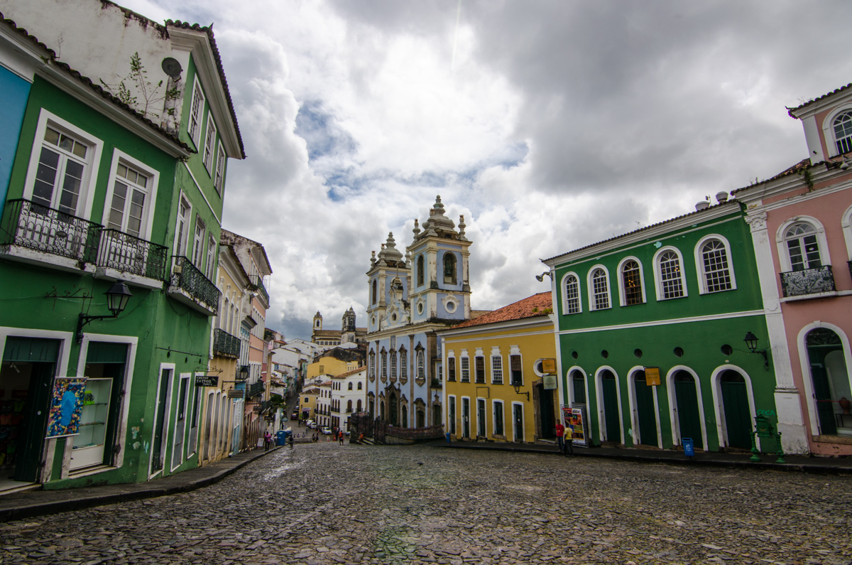 Largo do Pelorinho, Salvador, Brazil