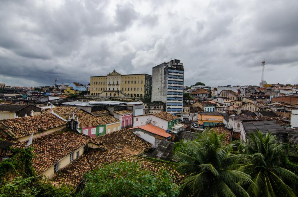 View from Pelorinho, Salvador, Brazil