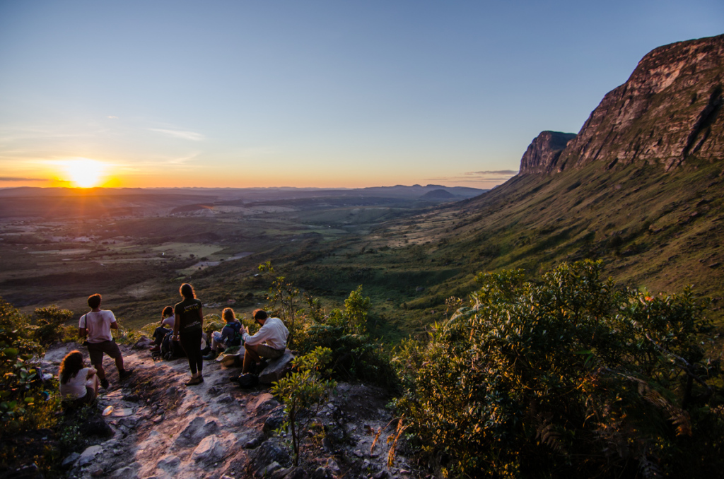 Sunset at Chapada Diamantina