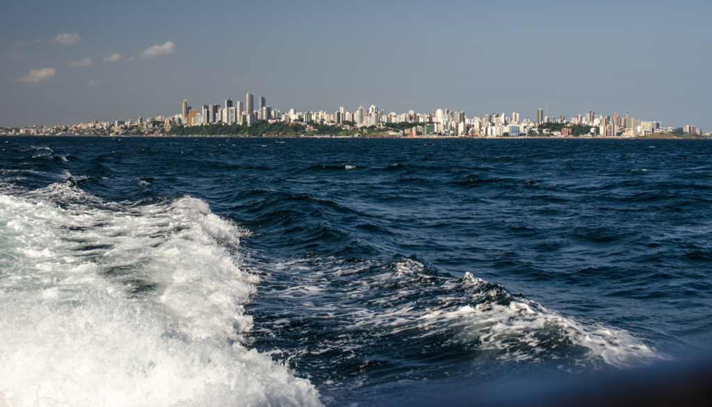 Leaving Salvador, Brazil