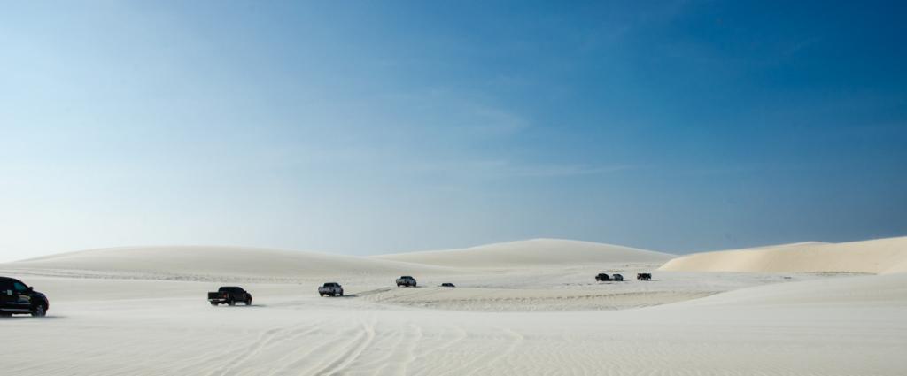 Sand dunes, Jericoacoara