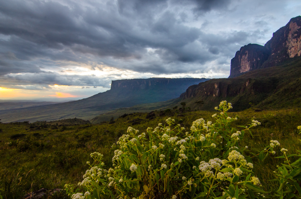 Sunset from Base Camp, Roraima