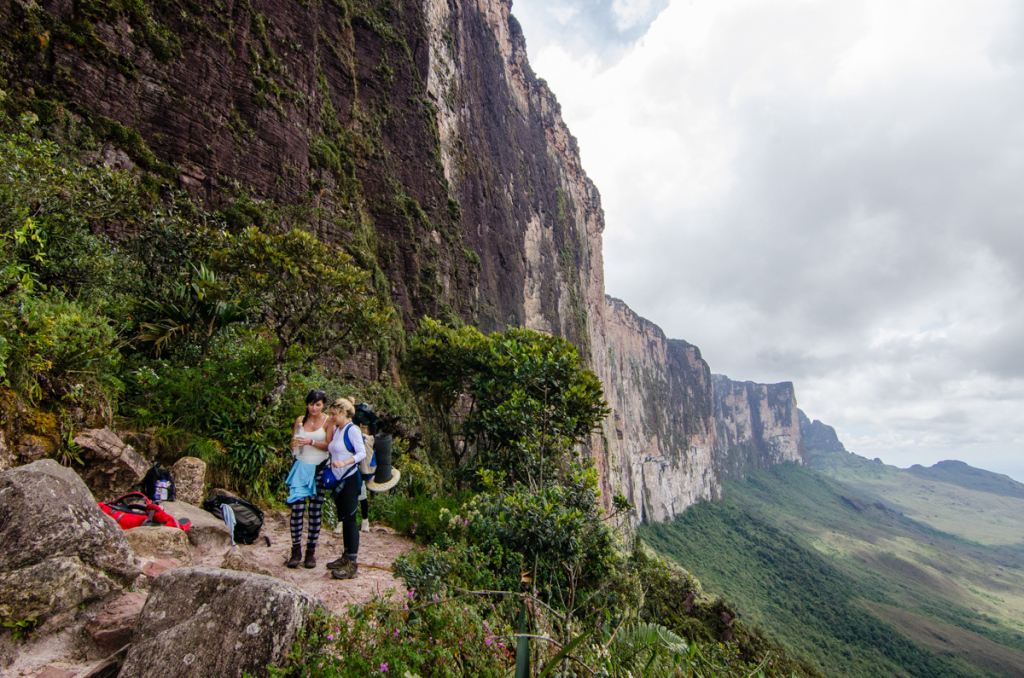 Ascent to Mount Roraima
