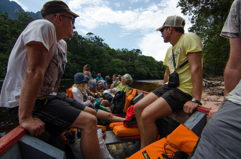 Canoe Ride to Angel Falls