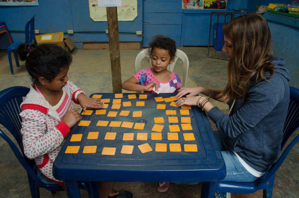 Memory card games, Angeles de Medellin Foundation