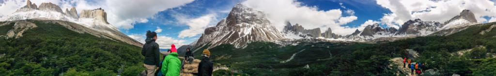 Mirador Britanico, Parque Nacional Torres del Paine