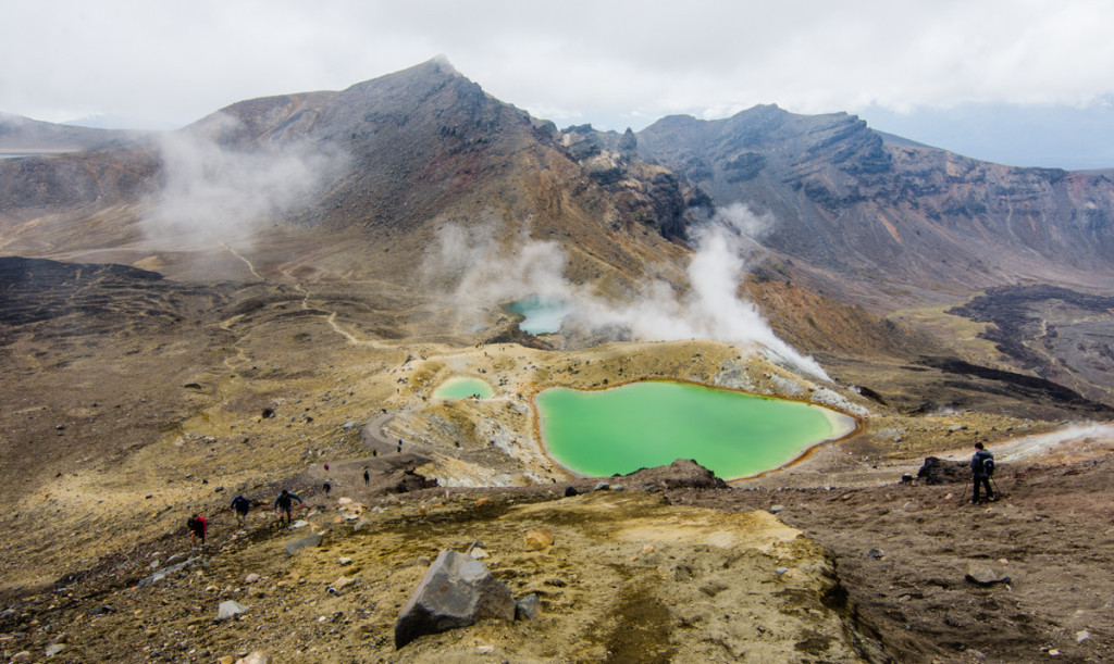 Emerald Lakes, Tongariro Northern Circuit