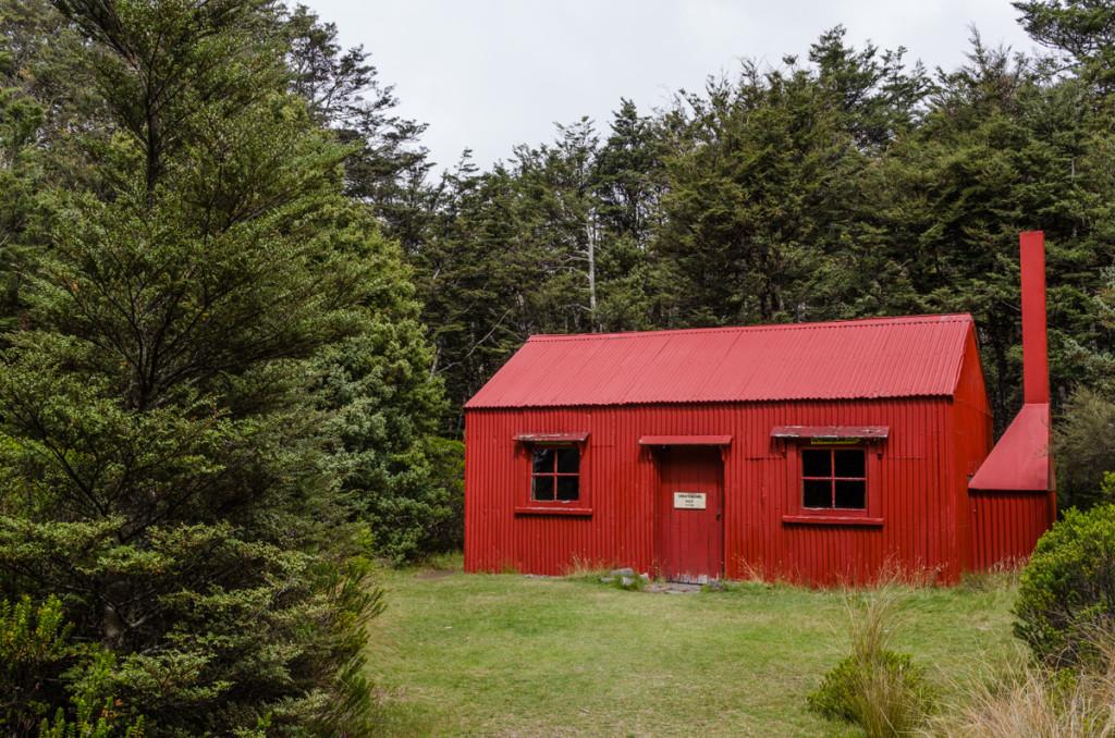 Historic Waihohonu Hut, Tongariro Northern Circuit