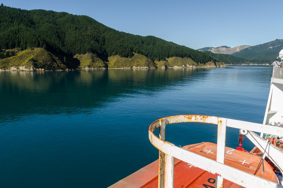 Interislander Ferry, New Zealand