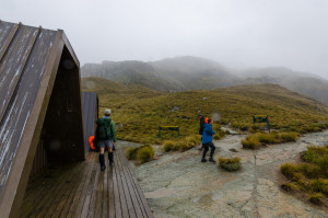 Harris Saddle Shelter, Routeburn Track