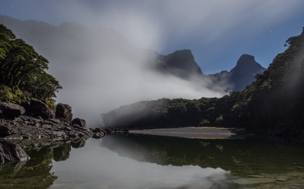 Long exposure photo of Lake Mackenzie, Routeburn Track